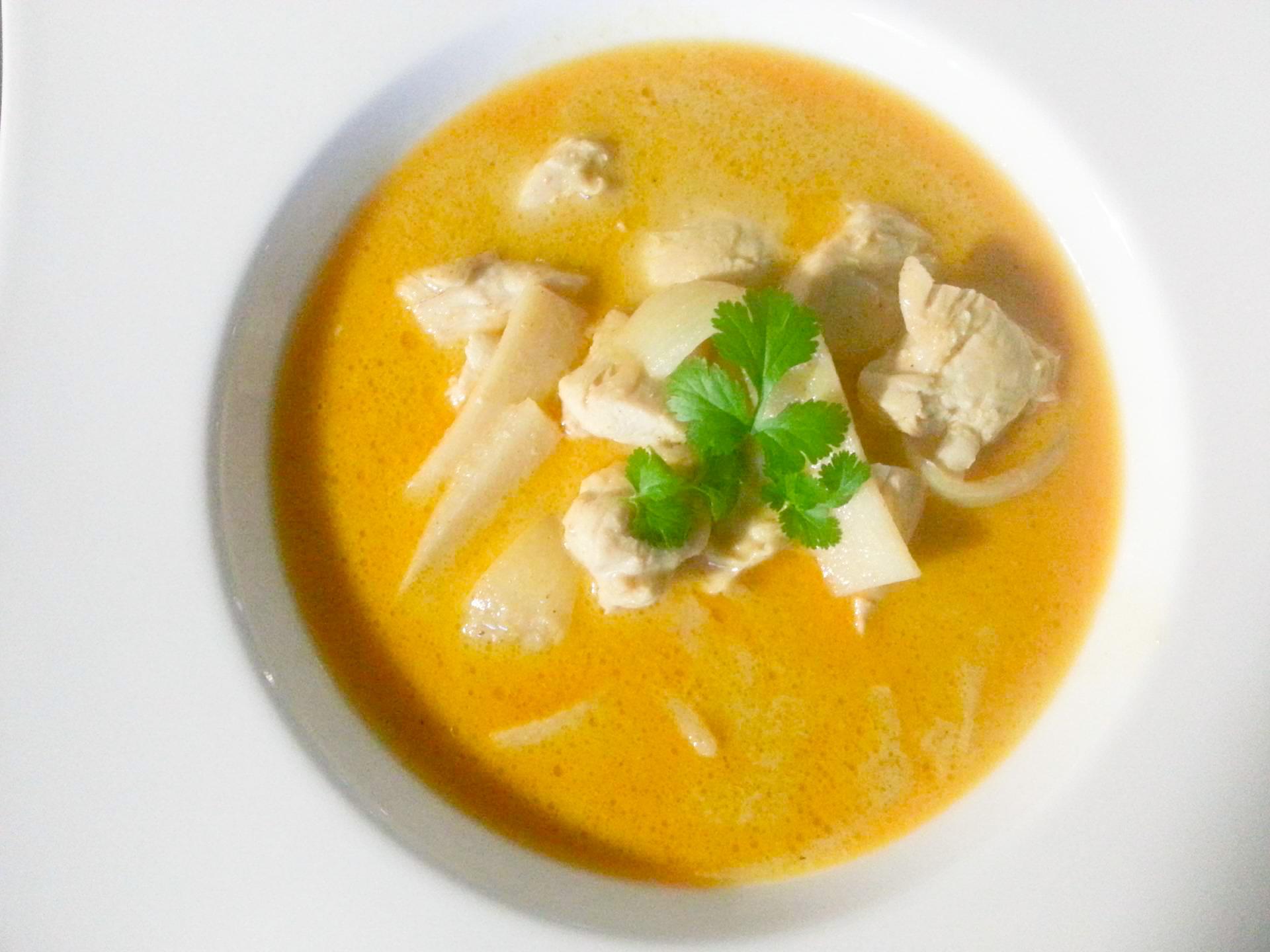 Tajskie żółte curry